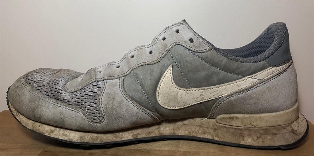Beispiel Schuh vorher